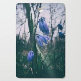 Fade Into The Blue Cutting Board