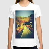 oasis T-shirts featuring Oasis by SLIDE