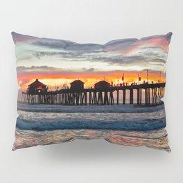 Huntington Beach Sunset  1/26/14 Pillow Sham