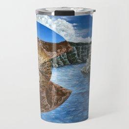 Colorado Flag Polyscape Travel Mug
