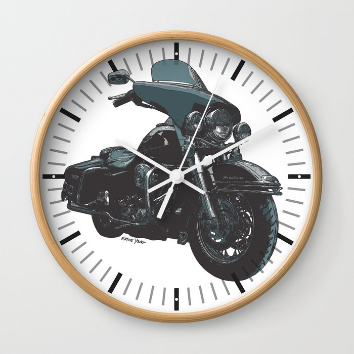 ROAD KING AMERICAN MOTORCYCLE Wall Clock