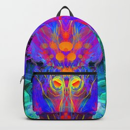 Lord Rokklu From Orion (Vallios Visual Kung Fu Collab) Backpack