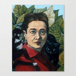 Simone DeBeauvoir Canvas Print