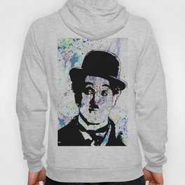 Charlie Chaplin-Watercolor Hoody