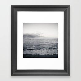 calm day 04 ver.b&w Framed Art Print