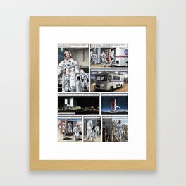 Apollo 11 page 3 Framed Art Print