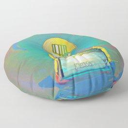 PAWN / White / Chess Floor Pillow