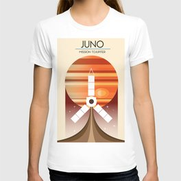 Juno - Mission to Jupiter Space art T-shirt