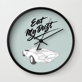Countach –Eat My Dust Wall Clock