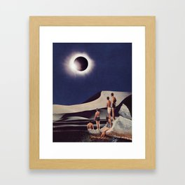 SOLAR ECLIPSE by Beth Hoeckel Gerahmter Kunstdruck