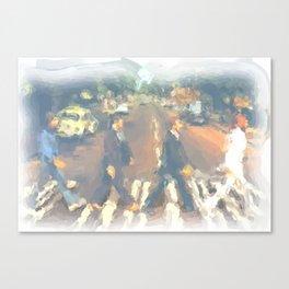 John, Paul, George, Ringo Canvas Print