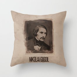 Nikolai Gogol Throw Pillow