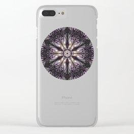 Mysterious mandala of elegance Clear iPhone Case
