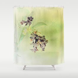 Blossom Inversion Shower Curtain