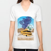 lab V-neck T-shirts featuring Breaking Bad Lab by famenxt