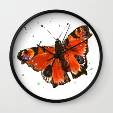 Butterfly, butterflies, insects, garden lover gift, gardens, nature,  Wall Clock
