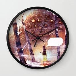 Speachless Wall Clock