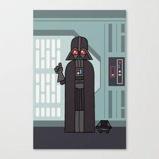 EP4 : Darth Vader Canvas Print