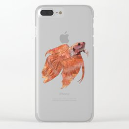Betta Clear iPhone Case