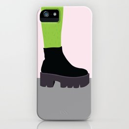Cactus Leg iPhone Case