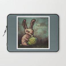Evil Easter Bunny Laptop Sleeve