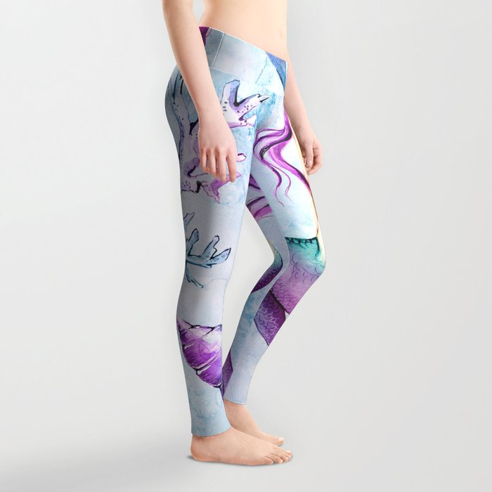 Enchanted Ocean #6 Leggings