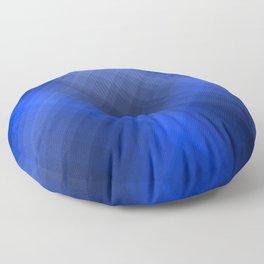 Dark Blue Lines Floor Pillow