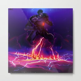 Gipsy Danger Breach Metal Print