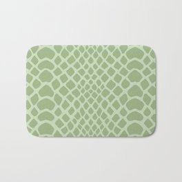Snake Skin Pattern Bath Mat