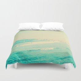 beach sunday II Duvet Cover