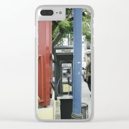 Barbados 201 Clear iPhone Case