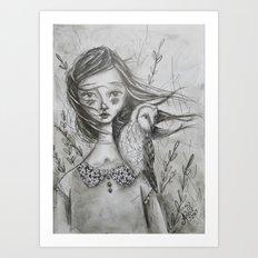 Felicity and Max Art Print
