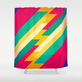 geometric_04 Shower Curtain