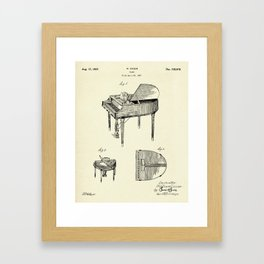 Piano-1937 Framed Art Print