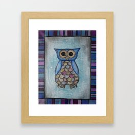 Owl Hoot Framed Art Print