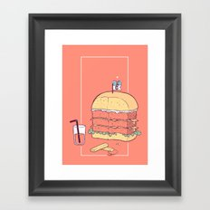 La última cita Framed Art Print