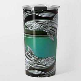 """""""Astrological Mechanism - Pisces"""" Travel Mug"""