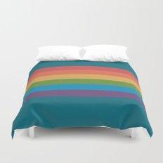 Indigo Rainbow Duvet Cover
