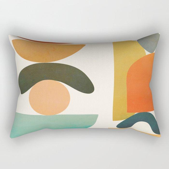 Modern Abstract Art 72 Rectangular Pillow