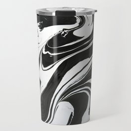 Black painting Travel Mug