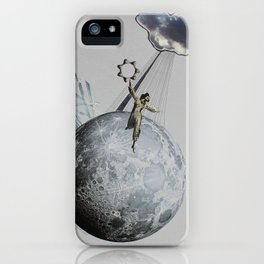 Private Moon iPhone Case