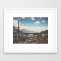 middle earth Framed Art Prints featuring Middle Earth Power Co. by bobby dallas