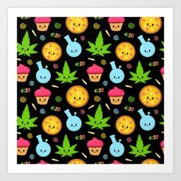 Sweet 420 Art Print