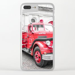 Fire Engine House No. 1 Clear iPhone Case