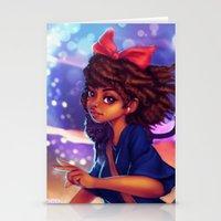 kiki Stationery Cards featuring Kiki by RSArts