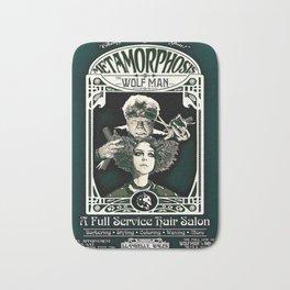 Metamorphosis by The Wolf Man: A Full Service Hair Salon (Vintage) Bath Mat