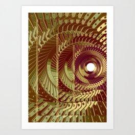 Mechanical 13 Art Print