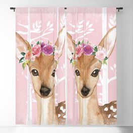 Animals in Forest - The Little Deer Blackout Curtain