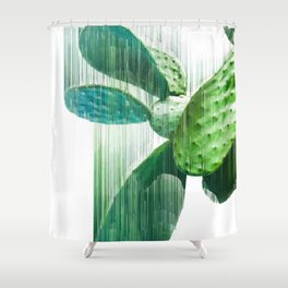 Faster than the speed of CACTUS Shower Curtain