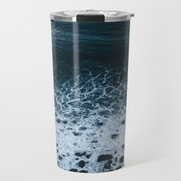 Iceland waves and shapes - Landscape Photography Travel Mug